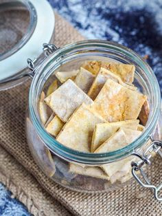 Best ever 4 ingredient gluten free dairy free made from scratch crackers #crackers #snack #appetizer Gluten Free Recipes For Lunch, Snack Recipes, Healthy Chips, Gluten Free Crackers, 5 Ingredient Recipes, Sugar Free Desserts, Vegan Snacks, Food To Make, Dairy Free