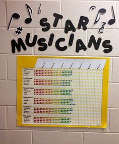 ♫ We ❤ Music @ HSES! ♫: Music Classroom Organization Stickers for good behavior in class.  At the set end of so many stickers, the reward can be a party or a treat or to sing favorite songs...be creative with rewards.  But I kinda still like the music buck ideas.....