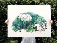 Deze print van Liekeland. Pretty please! Bloemenstruik)foto_Liekeland_web