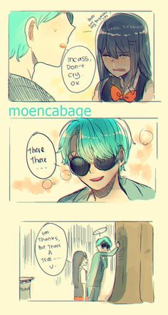 V mystic messenger - V x MC