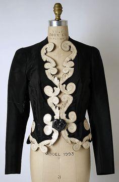 "omgthatdress: "" Jacket Elsa Schiaparelli, 1937 The Metropolitan Museum of Art """