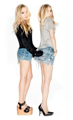 Mary Kate and Ashley Olsen / Stylemint / Terry Richardson