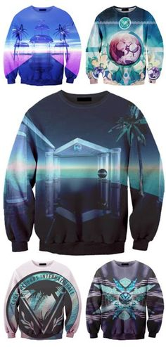 sweatshirt from Kevin Heckart. Asian Men Fashion, Bold Fashion, School Fashion, Womens Fashion, Vaporwave Clothing, Cool Outfits, Fashion Outfits, Cool Style, My Style