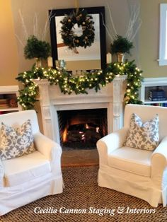 30 Second Mom - Cecilia Cannon: Selling Your Home? How to Decorate It for the Holidays