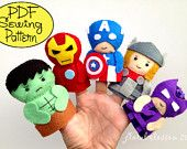 Free Felt Patterns PDF | PDF Patterns Felt Ornaments Finger Puppets & by FloralBlossom