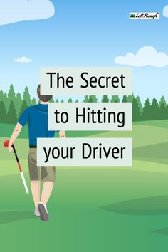 Golf Tips For Beginners Did you know hitting a driver takes a few adjustments? Let's learn how to use the big stick today. Golf Driver Tips, Golf Tips Driving, Golf Drivers, Tips And Tricks, How To Play Tennis, Play Golf, Good Drive, Golf 7, Disc Golf