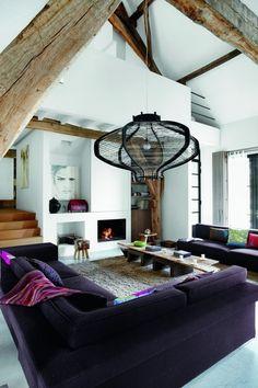 Μια παλιά αποθήκη στη Γαλλία μεταμορφώνεται σε loft