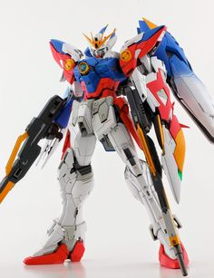 MG 1/100 Wing Gundam Proto Zero - Custom Build - Gundam Kits Collection News and Reviews