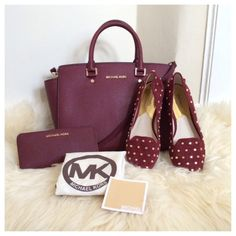 🎀SOLD🎀BNIB MICHAEL Michael Kors Studded Flat BNIB Studded flat by Michael Kors in Cinnabar color with gold stud. Comfy and cute flats :) MICHAEL Michael Kors Shoes