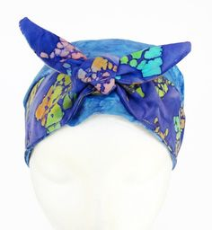 Womens Scrub Hat with Bow Scrub Cap Surgical by CroweScrubCaps