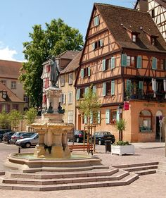 Colmar, Alsace, France (the inspiration for the town in Howl's Moving Castle!)