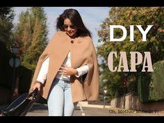DIY Costura cómo hacer abrigo capa (patrones gratis) - YouTube