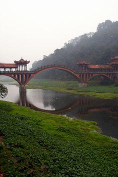 Haoshang Bridge, Leshan, China