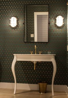 Before & After: From Boring Bathroom to Bold! — Professional Project   Apartment Therapy