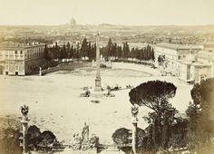 piazza del Popolo 1860