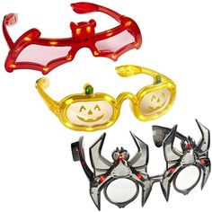 Pier one Halloween flashing eye glasses. Sold out but can be found on www.myjewelthiefinc.com Available in skull, bat or pumpkin Random styles shipped. Price is per one pair of glasses. 6.99