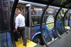 Curitiba BRT Boarding