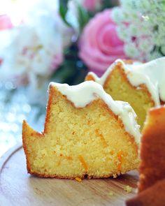 Budín de naranja Almond Cakes, Vanilla Cake, Pie, Sweet, Desserts, Recipes, Food, Mini Fruit Pies, Holiday Desserts