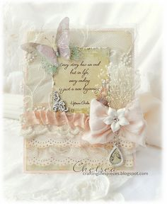 Crafting Life's Pieces: Motivation Card - Angel Charms