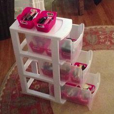 Make up organization. Vanity
