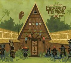 Enchanted Tiki Room-love the Disneyland of my youth Disney Time, Old Disney, Disney Magic, Disney Dream, Disney Stuff, Tiki Art, Tiki Tiki, Walt Disney Imagineering, Disney Enchanted