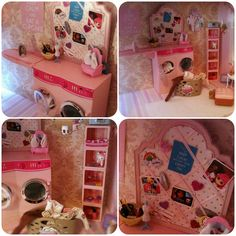Customized Barbie Laundry Set