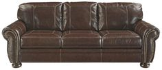 Banner Traditional Queen Sofa Sleeper with Memory Foam Mattress by Signature Design by Ashley   Part of the Banner Collection Sku: 5040439 Dimensions: Width: 99  x  Depth: 39  x  Height: 39 Store Availability: On Display Compare At Price: $3,439.99 Sale Price: $1,879.99