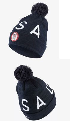 38f73c044dc Hats 163543  Nike 2018 Winter Olympic Team Usa Beanie 905605-473 Obsidian  Heather Brand New -  BUY IT NOW ONLY   50 on eBay!