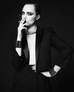 Cara Delevingne by Hedi Slimane for Saint Laurent La Collection De Paris Winter 2016 Ad Campaign