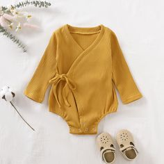 Toddler Baby Girl Romper Newborn Baby Clothes For Girls Long Sleeve Cotton Kids Boys Jumpsuit Baby Boys Outfits Clothes Baby Outfits Newborn, Baby Girl Newborn, Baby Boy Outfits, Long Sleeve Kimono, Jumpsuit For Kids, Solids For Baby, Trendy Baby Clothes, Baby Girl Romper, Baby Bodysuit