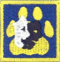 Cub Scouts/The Performer merit badge; Partiotuote, Esiintyjä-jälki , Sudenpentujen Esiintyjä-jälki