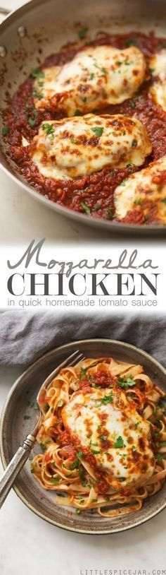Mozarella Chicken in