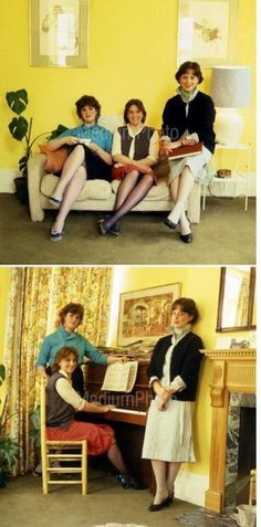 Lady Diana Spencer's flat mates