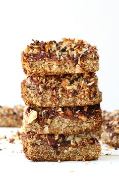 Coconut cacao power bars