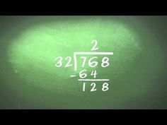 Helpful, clean example of long division with 2 digit divisor. Helped my grader a lot. Teaching Long Division, Teaching Math, Maths, Division Activities, Math Division, Math Boards, Fourth Grade Math, Math Help, Common Core Math