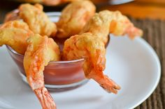 Camaron Rebosado (Deep Fried Battered Prawns)