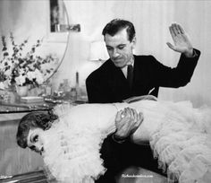 Gary Cooper and Claudette Colbert in Bluebeard's Eighth Wife