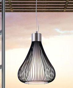 Look at this #zulilyfind! Black Interstellar Ceiling Lamp by Zuo Modern #zulilyfinds