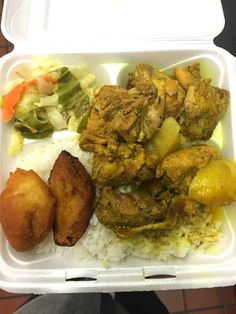 #Trinidad #fastfood #takeway #lunch #caribbean #cuisine