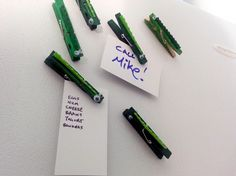 Alligator Clips - DIY magnets