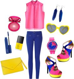 """Color Blocking"" by marjorie-d19 ❤ liked on Polyvore"