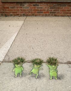 David Zinn #Streetart …