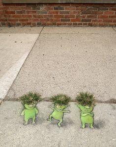 David Zinn #Streetart                                                       …                                                                                                                                                                                 More