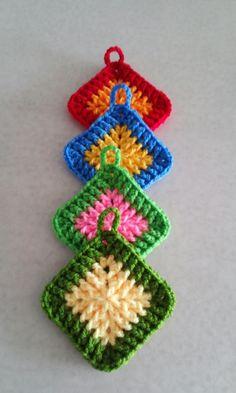 New crochet blanket flower ganchillo 15 ideas Crochet Flower Squares, Crochet Leaf Patterns, Easy Crochet Stitches, Crochet Sunflower, Crochet Leaves, Granny Square Crochet Pattern, Crochet Motif, Crochet Flowers, Crochet Baby Hats