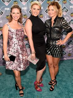 Teen Choice Awards The Best, Brightest and Boldest Looks Red Carpet 2016, Teal Carpet, Teen Choice Awards 2016, Candace Cameron Bure, Fuller House, Fashion Gallery, Celebs, Celebrities, Nice Dresses