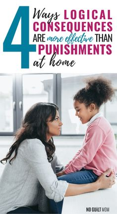 Using logical consequences for kids versus punishment is an effective parenting strategy when deciding on discipline at home. Using consequences can be great for improved behavior for all kids. We will show you how to make logical consequences using 4 easy steps which will strengthen your parenting discipline. #discipline #parenting #consequencesforkids #logicalconsequences #childdiscipline #noguiltmom via @noguiltmom Chores For Kids, Activities For Kids, Road Trip Games, Help Desk, Toddler Discipline, Kids Behavior, All Kids, Child Life, Anger Management