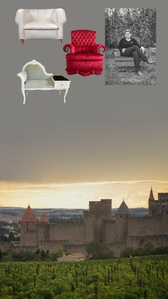 [Tour de 🇫🇷 - #artsdusiege - #carcassonne ] Let's go to the medieval city & its region! Like its landscapes, the region shines with the diversity of its vineyards & its gastronomy. Another discovery not to be missed: Arts du Siège, tapestry workshop where Claire works on the repair and design of furniture as #maitreartisandart.  📷 Produits / Portrait © @artsdusiege_clairepages,  Tant de Pose, Mélanie LUCAS  / Carcassonne © Flor de Sueno CC BY-SA 2.0     #madeinfrance #garancecassien Diversity, Letting Go, Discovery, Claire, Medieval, Landscapes, Workshop, Tapestry, Tours