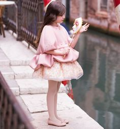 I Pinco Pallino - Italian Luxury Childrenswear Young Fashion, Kids Fashion, Little Girl Dresses, Girls Dresses, Leila, Kids Gown, Girl Dress Patterns, Baby Couture, Little Girl Fashion