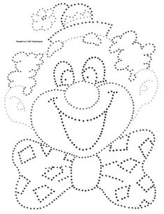 See the source image Circus Crafts, Carnival Crafts, Preschool Writing, Preschool Activities, Coloring Book Pages, Coloring Pages For Kids, Easy Valentine Crafts, String Art Patterns, Circus Theme