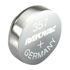 Rayovac(R) 303-357-1ZMA 1.5-Volt 303-357 Silver Watch-Electronic Battery (Single)